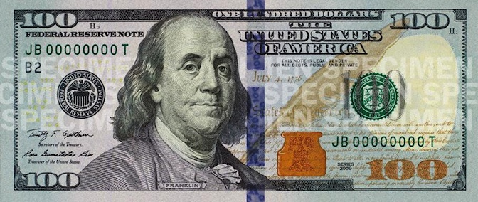 The Hidden Meanings In The New 100 Bill